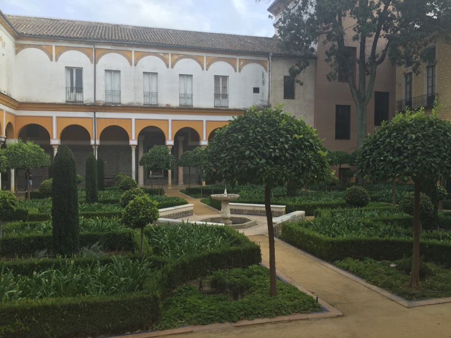 Casa de Pilatos…una tarde de miércoles enSevilla.