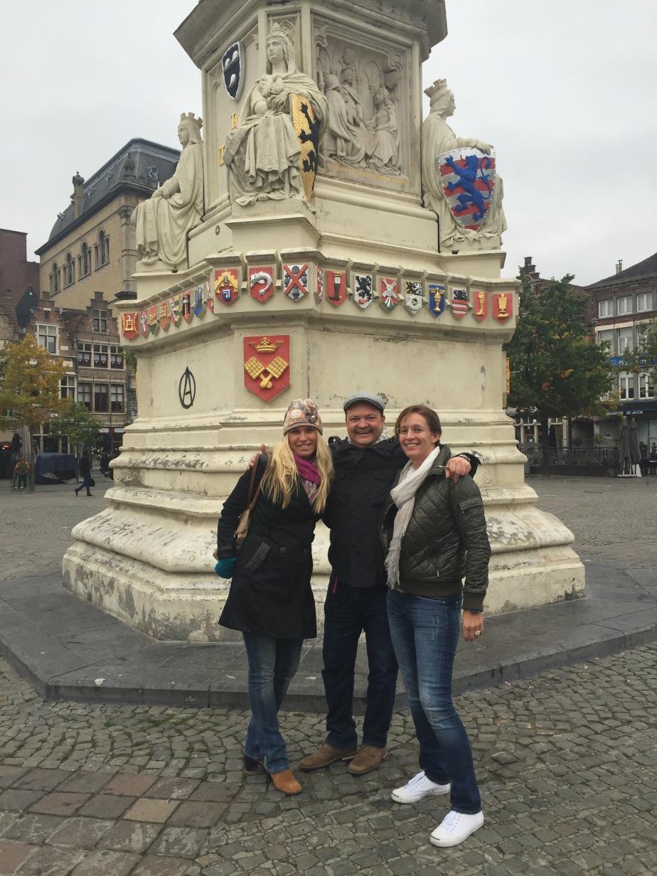 Kortrijk and Ghent….Domingo y lunes inBélgica.
